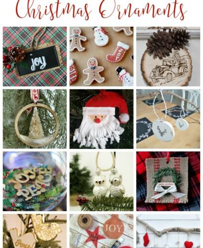 12 DIY Christmas Ornaments 34