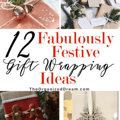 12 Gorgeous Ways to Wrap Gifts