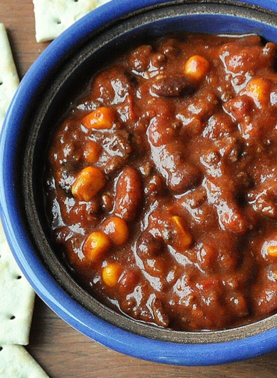Pressure Cooker Spicy Beer Chili Recipe 9