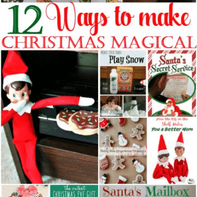 12 Festive Ideas to Make Christmas Magical