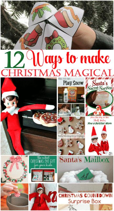 12 Festive Ideas to Make Christmas Magical, Gingerbread, DIY Elf Coat, Puzzle Piece holiday wreath Printable Elf on shelf Calendar & ideas.