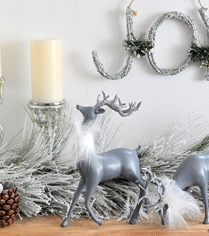 Reindeer Glam Makeover Holiday Decor 2