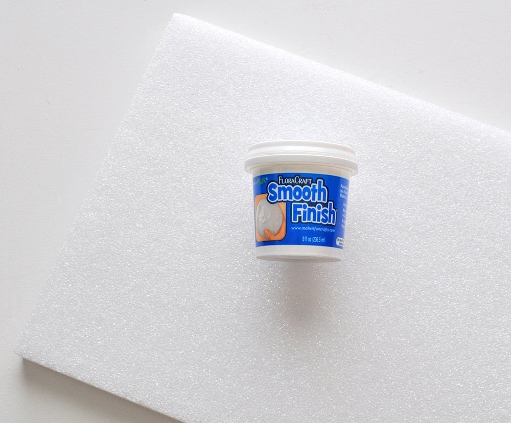 smooth finish foam filler