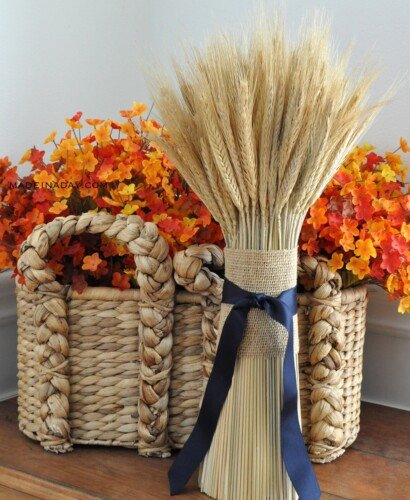 Heartwarming DIY Harvest Wheat Bundle 11
