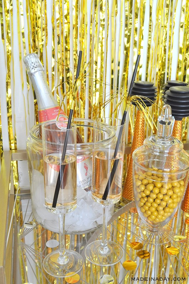 new-years-party-bar-cart-madeinaday-com