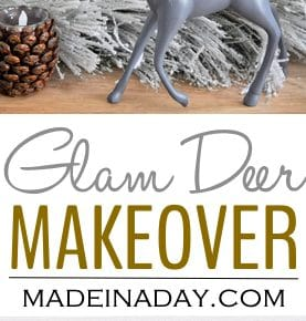 Reindeer Glam Makeover Holiday Decor 29