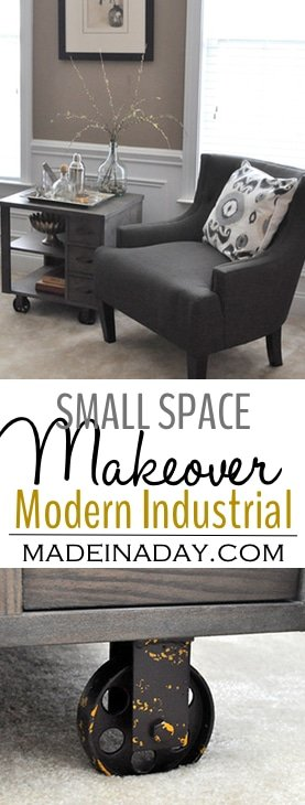 small-space-makeover-modern-industrial-madeinaday-com