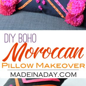 How to Make a DIY Boho Moroccan Pillow 31