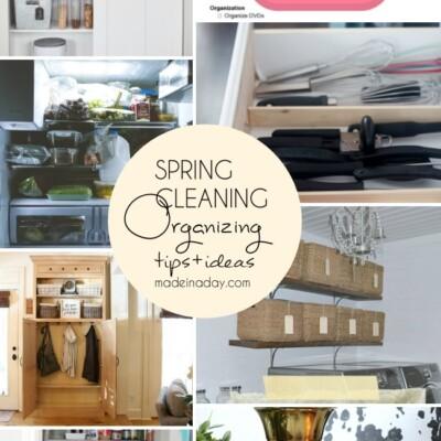 Spring Cleaning Organization Tips Tricks