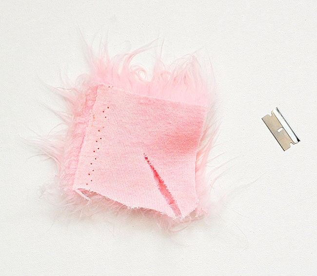 how to cut pink fur