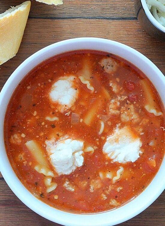 Hearty Turkey Lasagna Soup Recipe 38