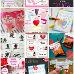 Free Printable Classroom Valentines 1