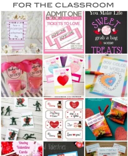 Free Printable Classroom Valentines 34