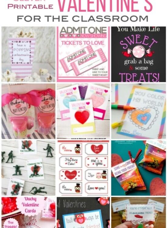 Free Printable Classroom Valentines 7