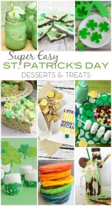 Super Easy St Patricks Day Desserts Treats 1