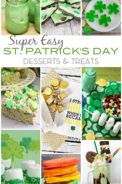 Super Easy St Patricks Day Desserts Treats