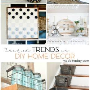 Unique Trends In DIY Home Decor 1