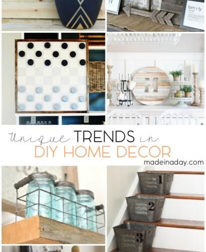Unique Trends In DIY Home Decor 5
