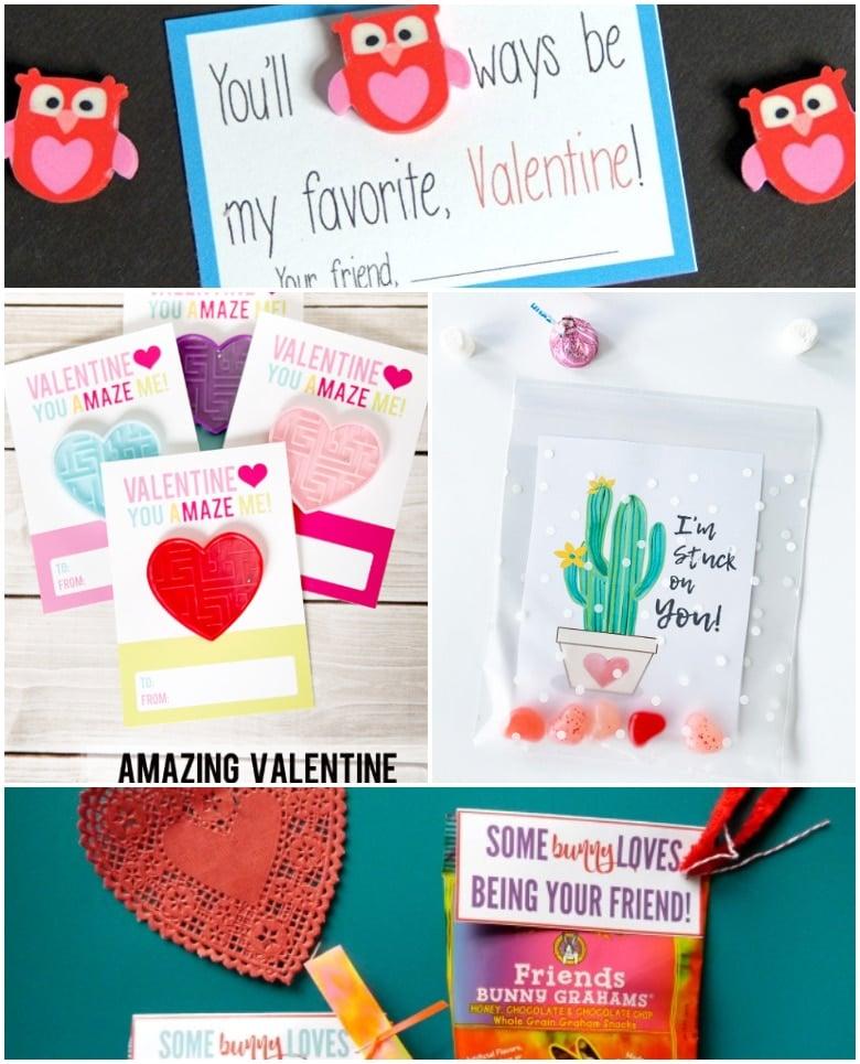 12 Free Printable Classroom Valentines