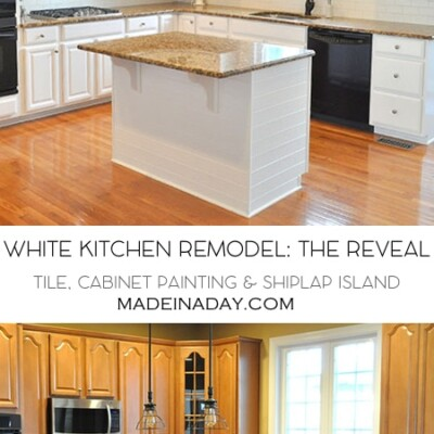 White Kitchen Remodel The Big Reveal
