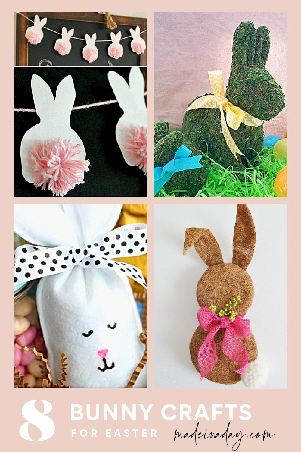 8 Sweet Bunny Crafts for Easter