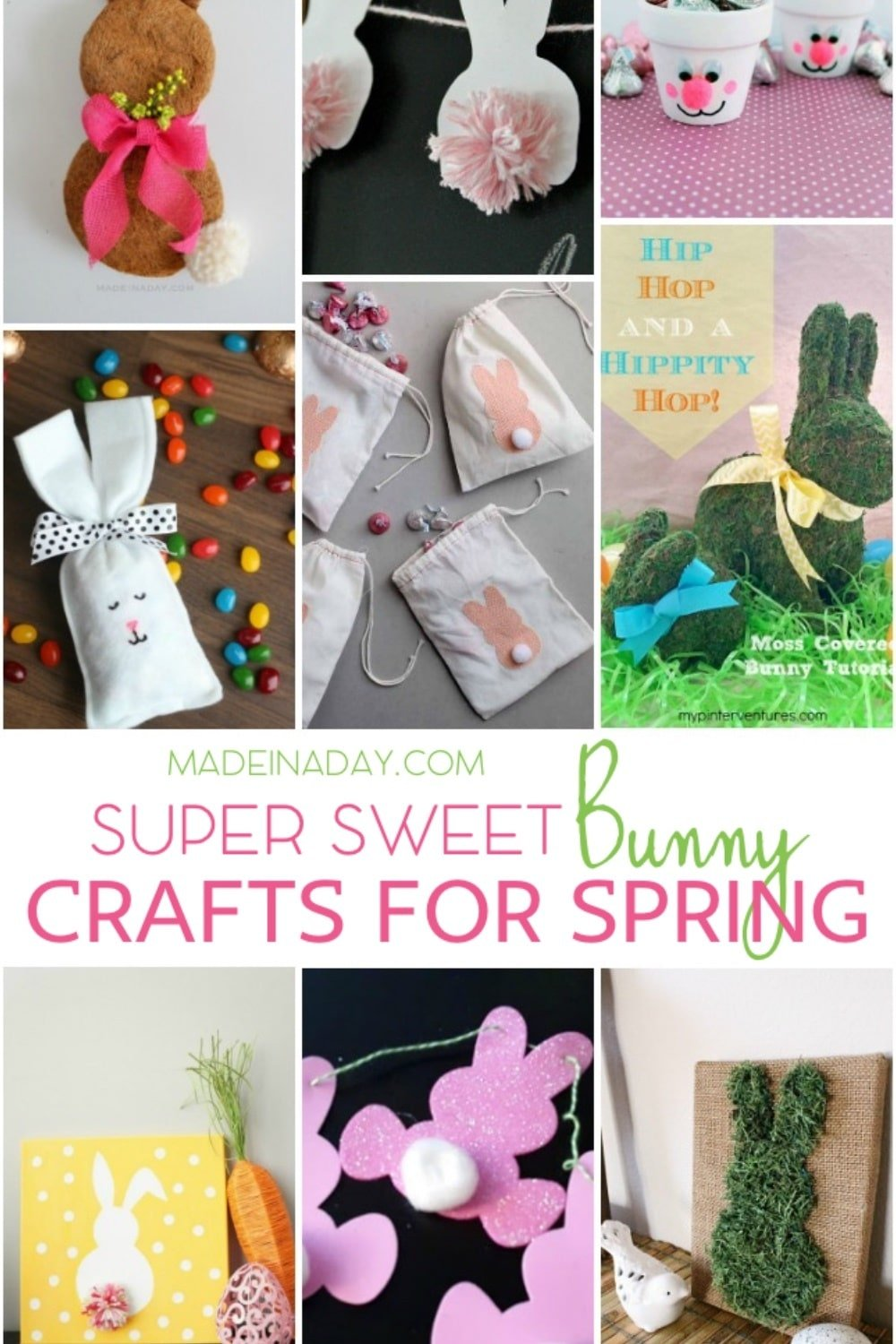 Easter Bunny Crafts for Spring