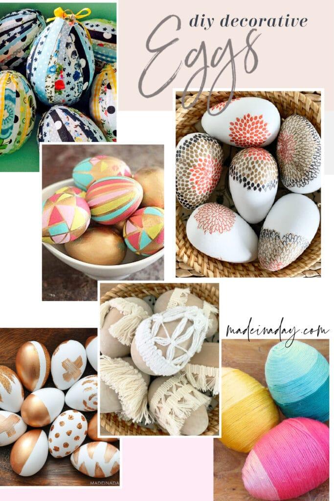 diy decorative eggs