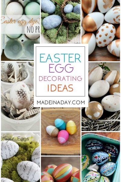 Easter Egg Decorating Ideas for Home Decor