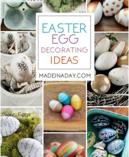 Easter Egg Decorating Ideas for Home Decor 31