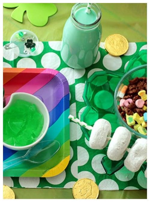 St Patricks day themes breakfast