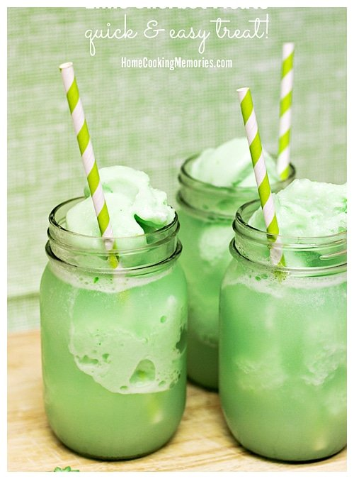 Lime Sherbert Shake