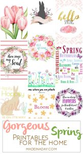 Gorgeous Spring Printable Art for the Home 1