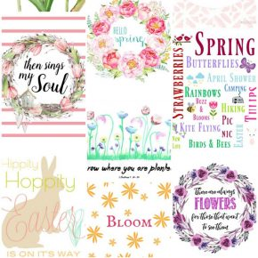 Gorgeous Spring Printable Art for the Home 29