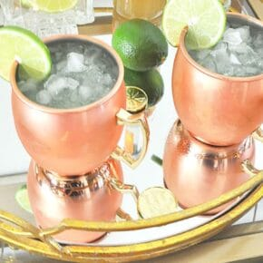Sparkling Kiwi Strawberry Moscow Mule 1