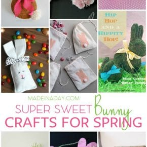 Easter Bunny Crafts for Spring 29
