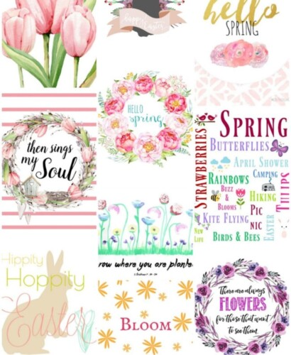Gorgeous Spring Printable Art for the Home 38