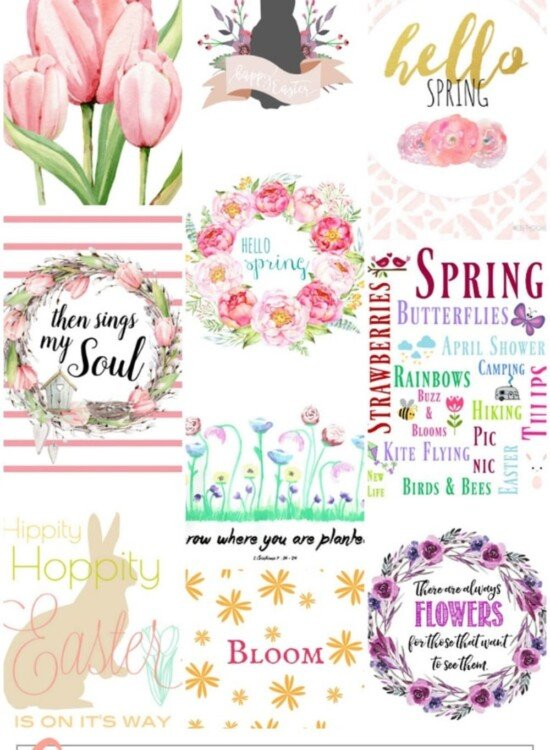 Gorgeous Spring Printable Art for the Home 36
