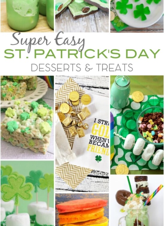 Super Easy St Patricks Day Desserts Treats 32