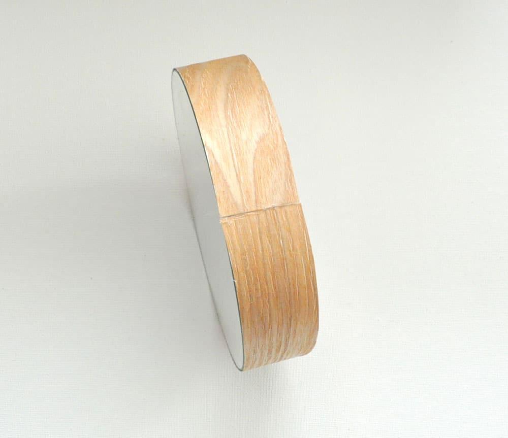 DIY Wood Leather Strap Mirror 6