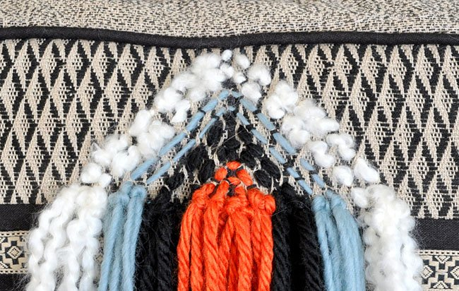 Diy Boho Throw Pillows : DIY Boho Fringe Throw Pillow Made in a Day