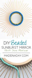 Beaded Sunburst Mirror 1