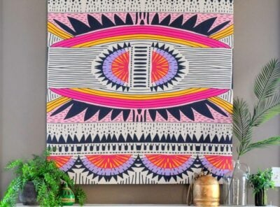 How to Mount a Tapestry for Wall Art