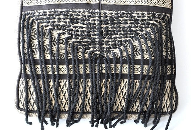DIY Boho Fringe Throw Pillow 5