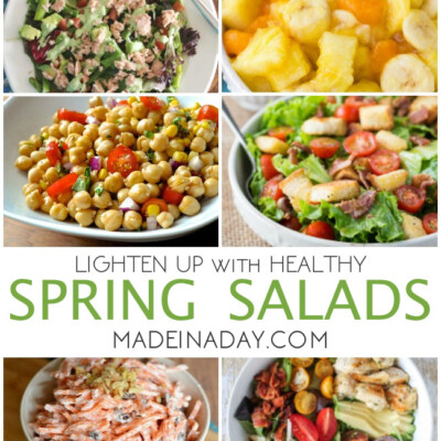 Lighten Up with Spring Salad Recipes