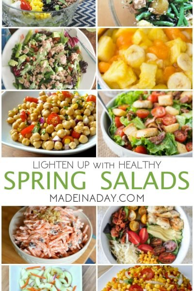 Lighten Up with Spring Salad Recipes
