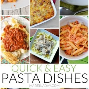 Quick & Easy Pasta Dishes 1