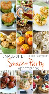 Small Bite Snack Party Appetizers 1