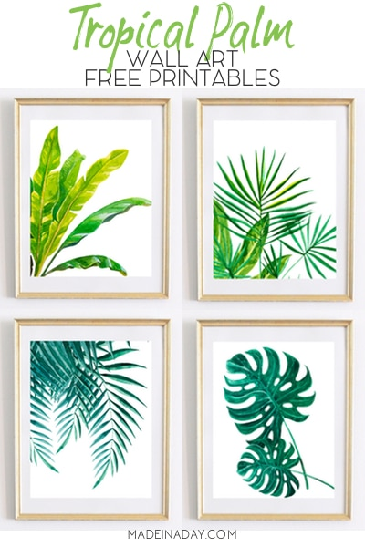 palm art prints