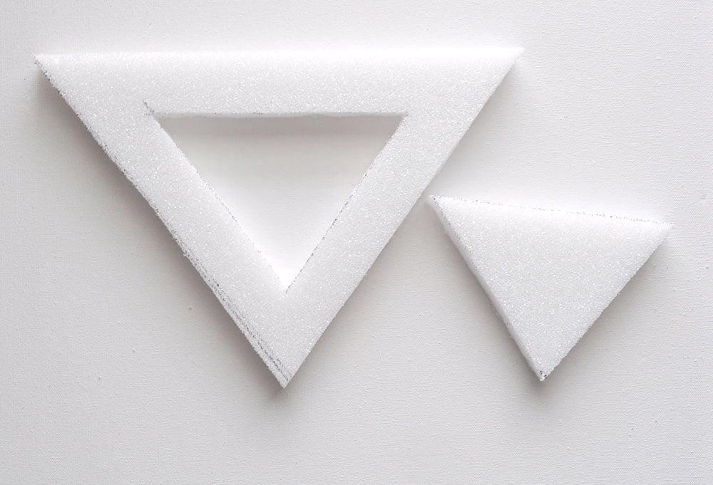 Boho Triangle Fringe Wall Art 33
