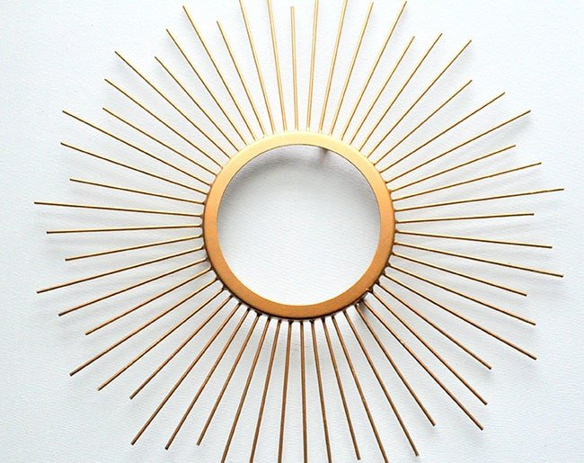 Beaded Sunburst Mirror 4